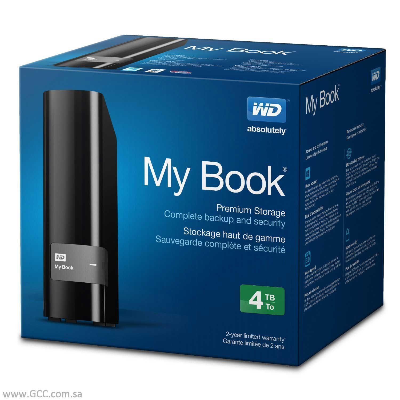 4TB WD My Book USB 3.0 External Hard Drive